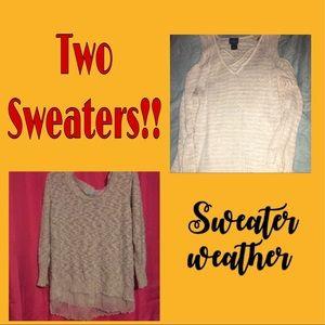 Plus Size Sweater Bundle